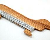 Dachshund Wiener Dog Weaving Shuttle For Weaving Loom Inkle Loom Tablet Weaving Card Weaving Detail Work - Handcrafted Weaving Tool Red Oak