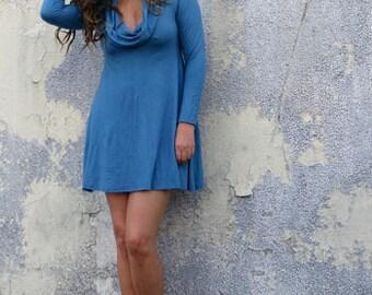 ORGANIC Gypsy Babydoll Tunic ( light hemp and organic cotton knit ) - organic dress