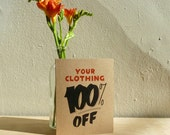 Your Clothing 100 off card