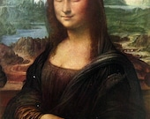 Fine Art Print - Mona Lisa by Leonardo da Vinci - Masterpiece Painting - Reproduction Print - 12 x 10