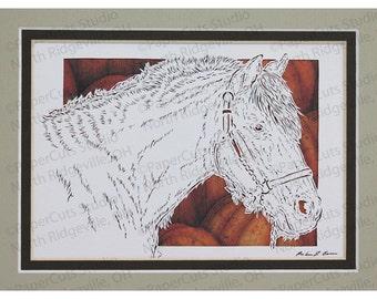 Pony Papercutting- Handcut Original