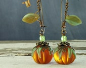 Pumpkin Earrings Halloween Earrings Pumpkin Jewelry Pumpkin Jewellery Halloween Jewelry Autumn Earrings Halloween Jewellery Fall Jewelry