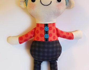 Boy Doll PDF sewing pattern