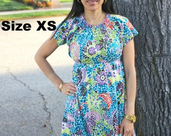 Ladies Boho Dress w. tunic option Whimsy Couture Sewing Pattern xs s m l xl 2xl 3xl PDF Instant