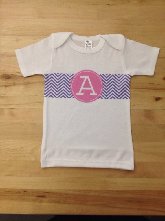Design your own baby shirt choose from our monograms for Decorate your own shirt