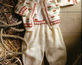 Pingouin No 132 Spring Summer 91 Baby Layette 44 Knitting Patterns Classic Nautical Folkloric