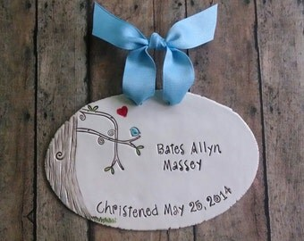 Baptism, Christening, First Communion Keepsake plaque