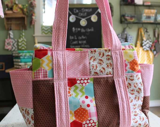 Design Your Own Patchwork Baby Diaper Bag Nappy