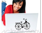 Bicycle Laptop Decal - Vinyl Decal