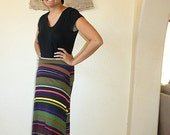 Women's Jersey knit maxi skirt