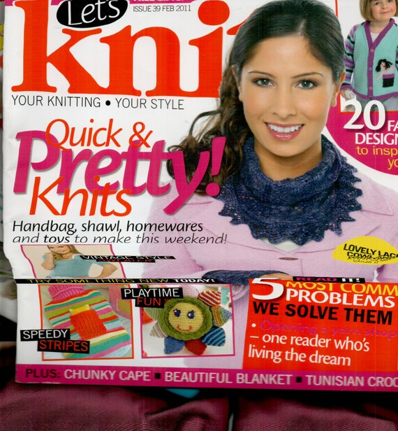 Let's Knit Knitting Magazine Issue 39 February 2011