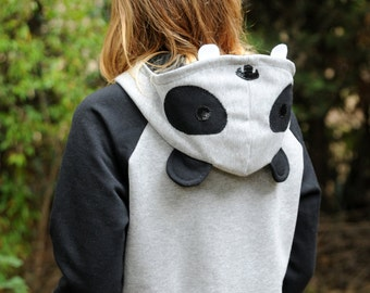 CHILD size 4 years - Last Units - Panda Hoodie