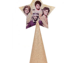 Golden Girls  Christmas Tree Topper