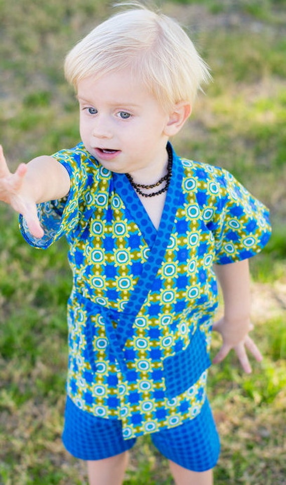 Little boys ninja shirt and shorts outfit boys by for 7 year old boy shirt size