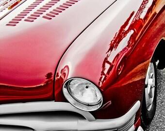 1949 Ford Coupe Car Photography, Automotive, Auto Dealer, Classic, Muscle, Sports Car, Mechanic, Boys Room, Garage, Dealership Art