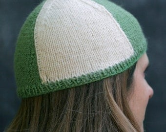 Quadrant Hat Knitting Pattern - Digital PDF download