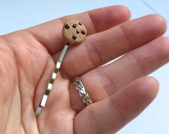 Chocolate Chip Cookie Bobby Pin
