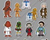 Star Wars Stickers (Group 1)