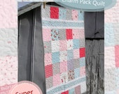 """Baby Quilt Pattern """"Beginner's Luck"""" Easy Charm Pack Quilt PDF Download"""