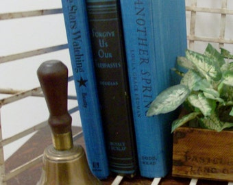 Instant Collection of Black and Blue Vintage and Antique Books