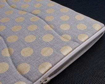 Laptop sleeve for 13 inch Macbook/linen