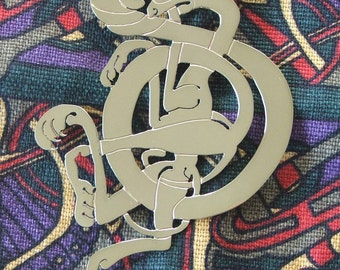 Celtic Interlace Brooch