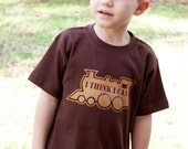 I Think I Can, Train Toddler Kids shirt, sizes 12m to 8, High Quality, Free shipping,  click for colors
