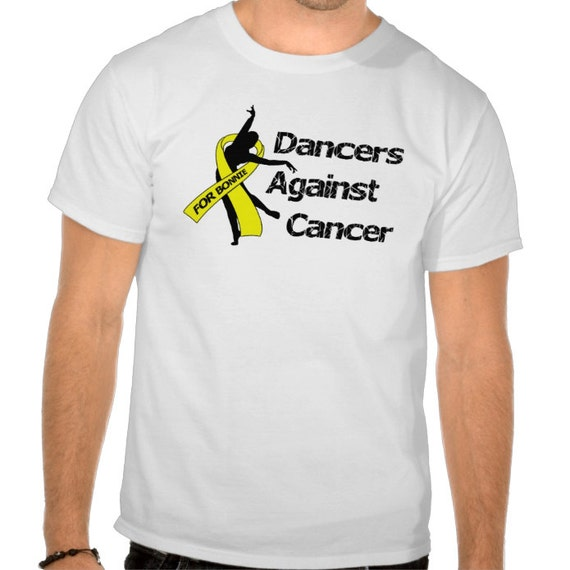 """24 Custom Tshirts -  2 Color, 1 Location - RESERVED LISTING - """"For Bonnie... Dancers Against Cancer"""""""