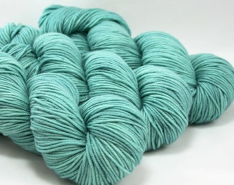 CORE dk weight yarn, hand dyed-AEGEAN