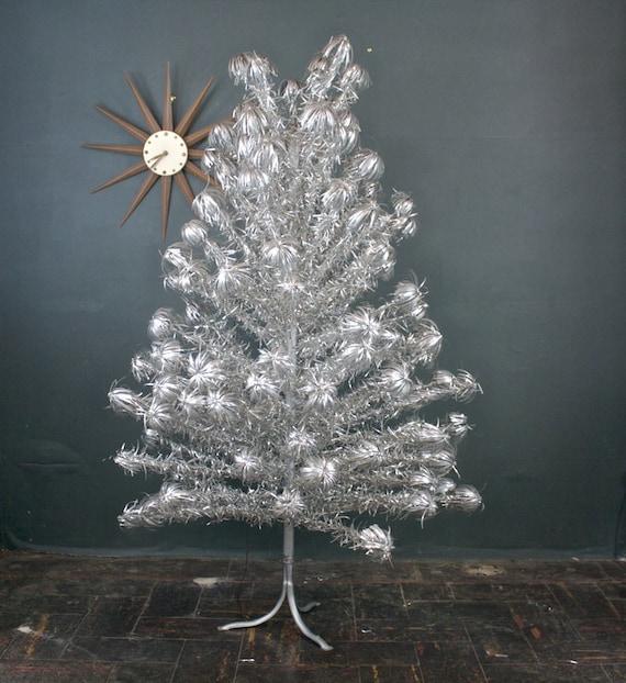 Antique Aluminum Christmas Tree