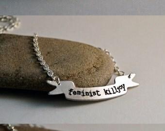 Custom Banner Necklace