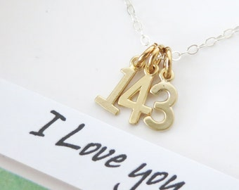 Popular Items For 143 I Love You On Etsy