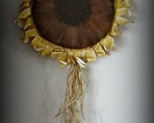 Sunflower Wall or Door Hanging ~ MADE TO ORDER