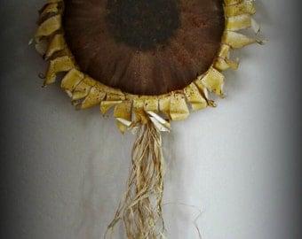 Sunflower Wall or Door Hanging