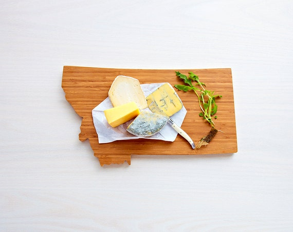 Personalized Cutting Board Engraved Cutting Board Montana State Cutting Board In  Cutting Board