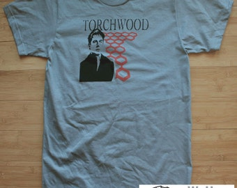 Torchwood Doctor Who Captain Jack Harkness American Apparel Shirt