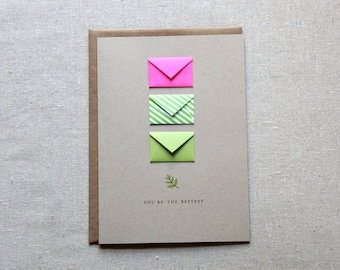 You're the Bestest Lime - Tiny Envelopes Card