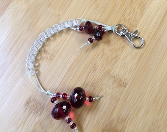 GARNET - Ruby Red - Golf Stroke Counting Beads - MAXI - TallyGators™