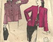 Butterick 3150 // Vintage 40s Sewing Pattern // Jacket Coat // Size 20 Bust 38