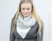 Chunky Cowl Crochet Pattern - No.513 Instand Digital Download Crochet Pattern for Snood Scarf