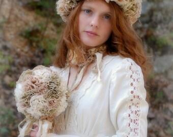 Winter Hat Unique Ruffle Cuff Hat Mori Girl Fashion