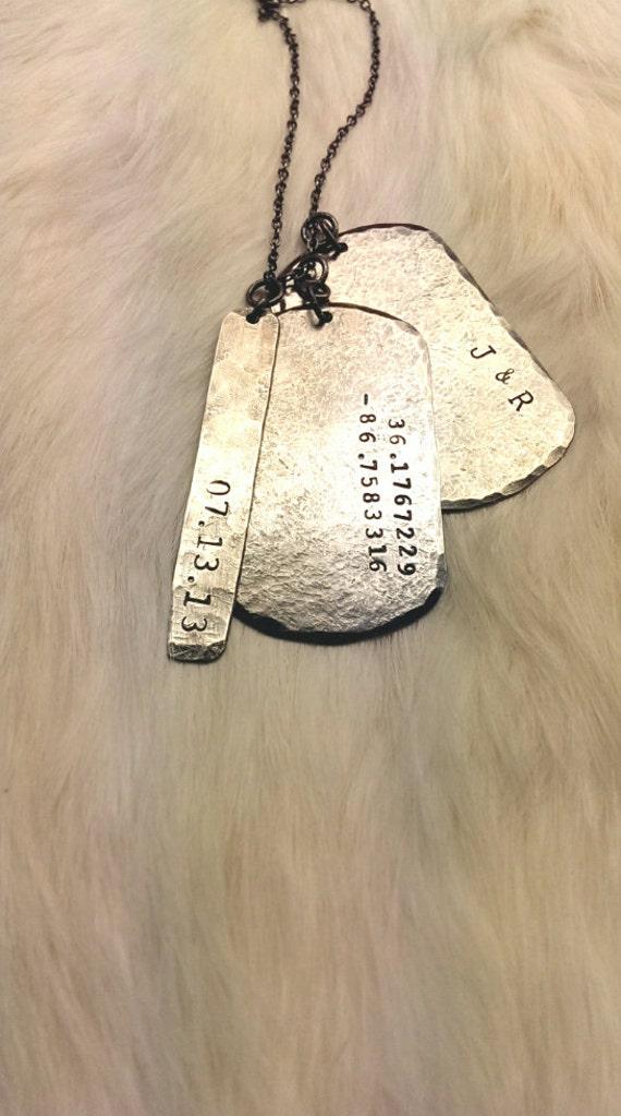 items similar to military dog tags custom engraved dog. Black Bedroom Furniture Sets. Home Design Ideas