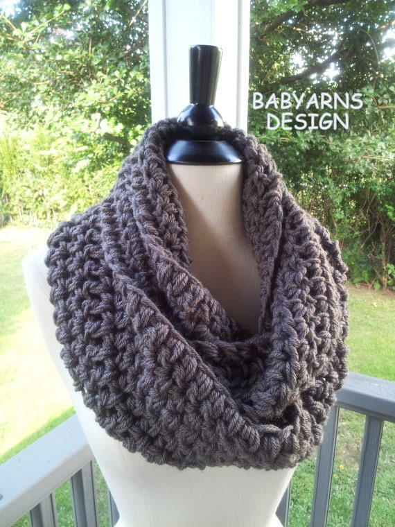 Crocheting Infinity Scarf For Beginners : CROCHET PATTERN BEGINNER Scarf Cowl Wrap Infinity by babyarns