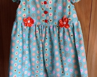 Darling  dress embelished with flowers