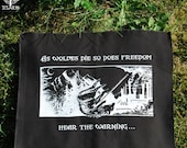 As Wolves die, so does Freedom - backpatch and free patch (30 different designs available)