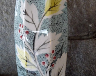 Beautiful midcentury modern vase.  Star Creations