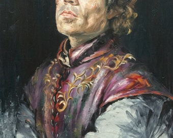 Canvas Painting Tyrion
