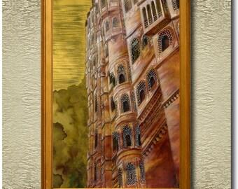 The Palace - Fine Art Print on heavy Cotton Canvas - unframed