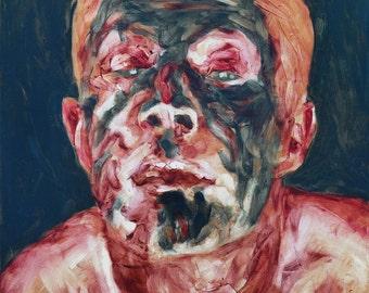 Lazarus, Original Oil Painting