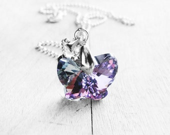 Get 15% OFF - Butterfly Crystal Necklace - Mother's Day SALE 2017